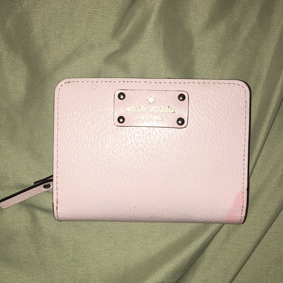 kate spade Handbags - Kate spade baby pink wallet